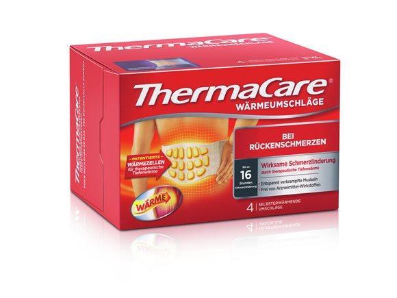 THERMACARE Rückenumschlag S-XL 4 Stk