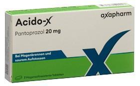 ACIDO-X Filmtabl 20 mg 7 Stk