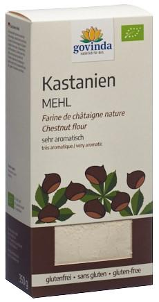 GOVINDA Kastanienmehl Bio Box 350 g