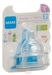 MAM Sauger 2 2+m 2 Stk