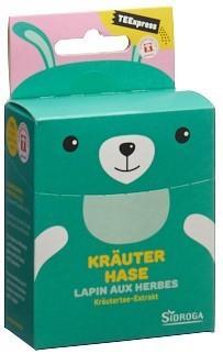 SIDROGA TEExpress Kräuter Hase 15 Btl 0.2 g