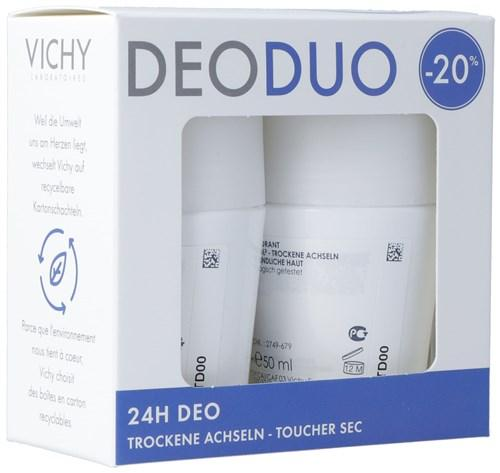 VICHY Deo Anti Nässe Duo -20% 2 Roll-on 50 ml