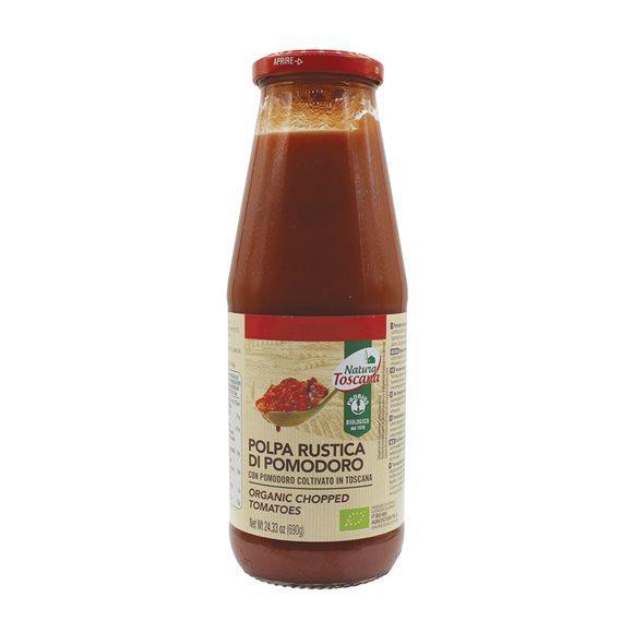 NATURA TOSCANA Tomaten kleingehackt Bio Glas 690 g