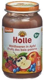HOLLE Waldbeeren in Apfel Bio 220 g