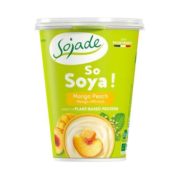 SOJADE Joghurt Soja Pfirsich Mango Bio 400 g