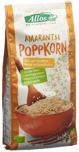 ALLOS Poppkorn Amaranth 125 g