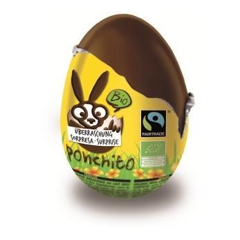 PONCHITO Überraschungsei Bio Fairtrade 20 g
