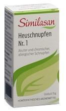 SIMILASAN Heuschnupfen Nr. 1 Glob 15 g