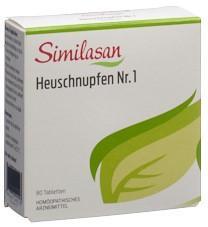 SIMILASAN Heuschnupfen Nr. 1 Tabl 80 Stk