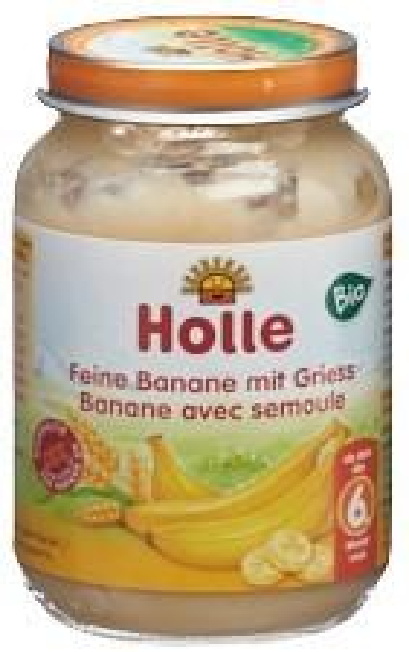 HOLLE Feine Banane mit Griess Bio 190 g