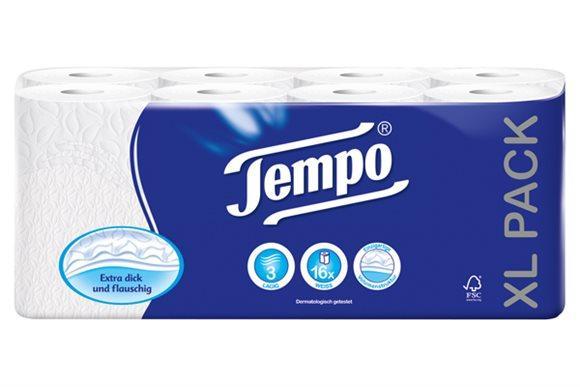 TEMPO Toilettenpapier Classic 3lag 150Blatt 16 Stk