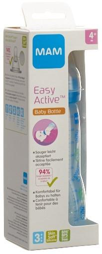 MAM Easy Active Baby Bottle Flasche 330ml 4+m