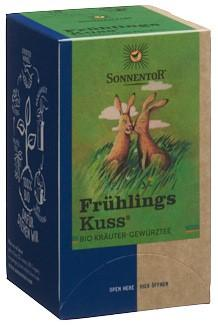 SONNENTOR Frühlingskuss Tee Btl 18 Stk