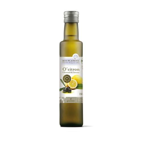BIO PLANETE Olivenöl nat ext o'citron Fl 250 ml