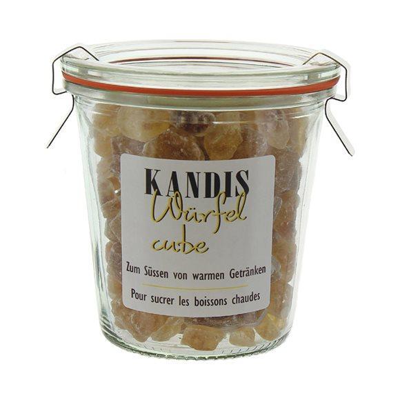 HERBORISTERIA Würfel-Kandis braun Weck-Glas 200 g