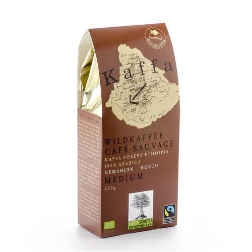 ORIG FOOD Wildkaffee Kaffa Medium gemahlen 220 g