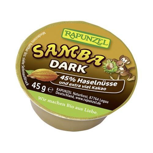 RAPUNZEL Samba Aufstrich Haselnuss dunkel 45 g