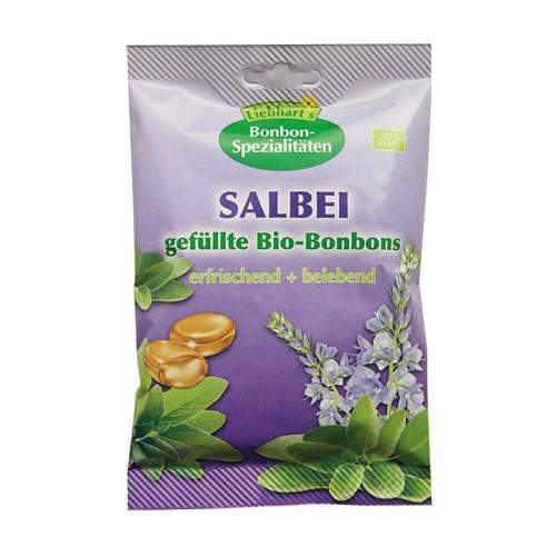 LIEBHART Bio Bonbons Salbei Btl 100 g