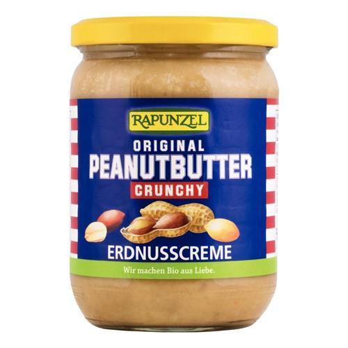 RAPUNZEL Peanutbutter Original Crunchy 500 g
