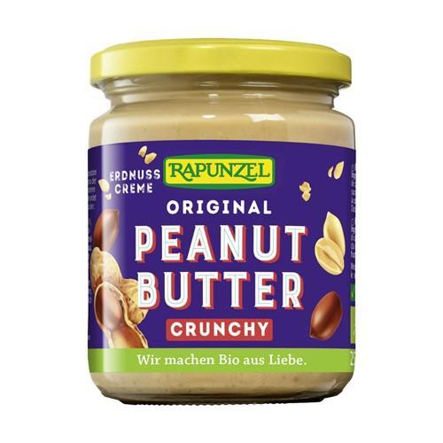 RAPUNZEL Peanutbutter Original Crunchy 250 g