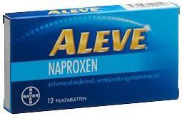 ALEVE Filmtabl 220 mg 12 Stk