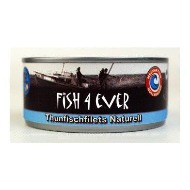 FISH4EVER Thunfischfilets naturell Ds 160 g