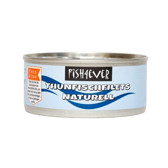 FISH4EVER Thunfischstücke naturell Ds 160 g