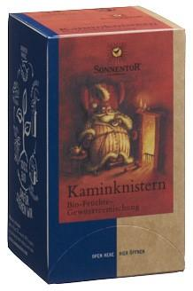 SONNENTOR Kaminknistern Tee Btl 18 Stk