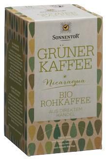 SONNENTOR Grüner Kaffee Btl 18 Stk