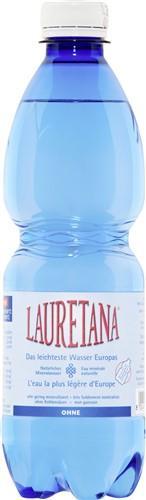 LAURETANA Mineralwasser o Kohlens Petfl 500 ml