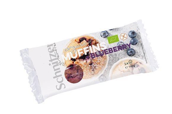 SCHNITZER Bio Muffin + Blueberry 2 x 140 g