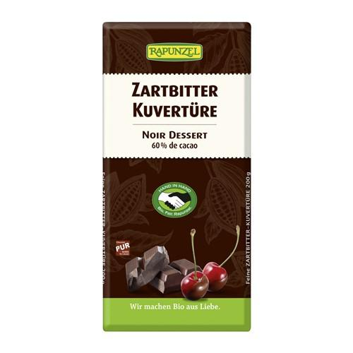 RAPUNZEL Kuvertüre Zartbitter portionier 200 g