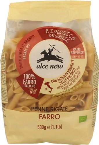 ALCE NERO Penne Farro - Dinkel hell 500 g