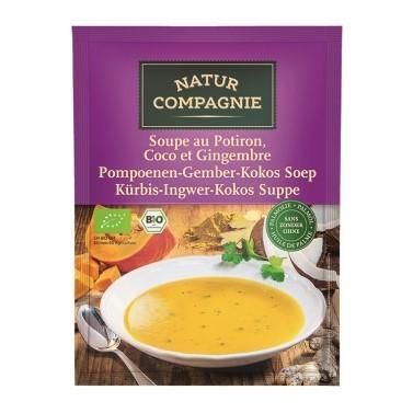 NATUR COMPAGNIE Kürb Ingw Kokossuppe Bio Btl 40 g