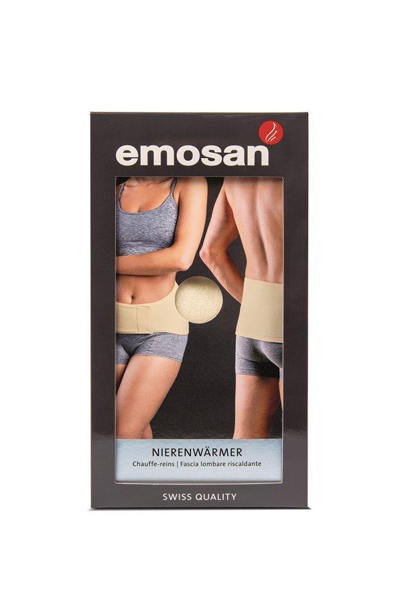 EMOSAN Nierenwärmer Velcro S écru