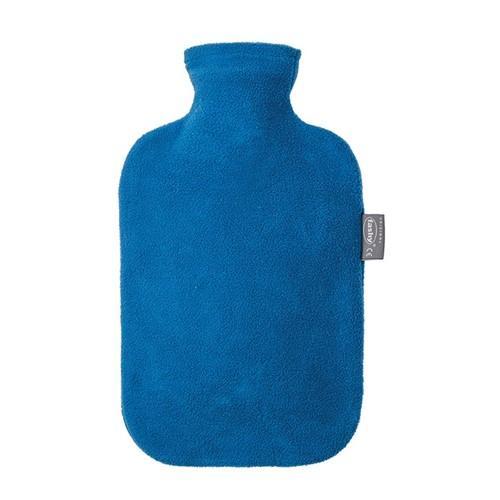 FASHY Wärmflasche mit Bezug 2l Saphir