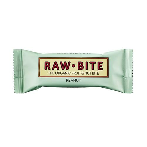 RAW BITE Rohkostriegel Erdnuss