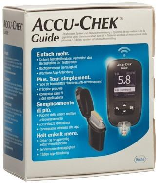 ACCU-CHEK GUIDE Set mmol/L incl. 1x 10 Tests