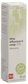 SPENGLERSAN Virus infl A comp D 13 Nasenspr 20 ml