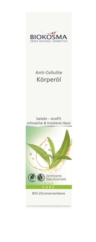 BIOKOSMA Anti-Cell Körperöl BIO-Zitronenver 100 ml
