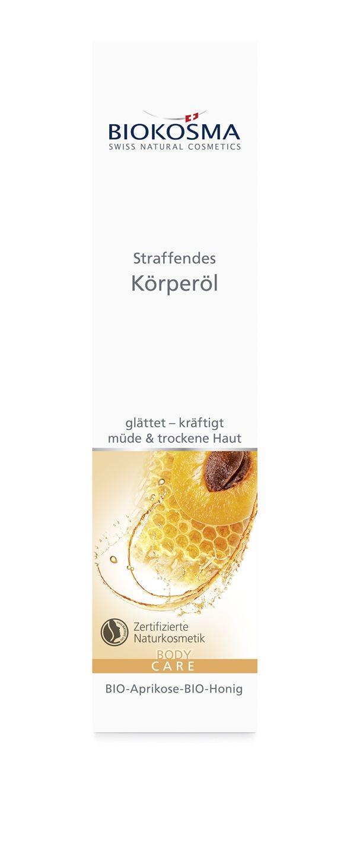 BIOKOSMA Straf Körperöl BIO-Aprik-BIO-Honig 100 ml