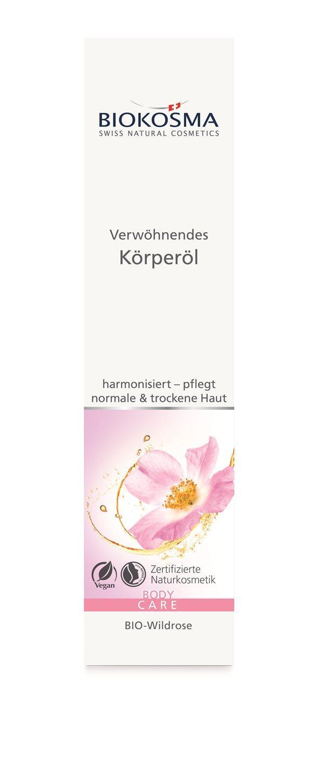 BIOKOSMA Verwöhnendes Körperöl BIO-Wildrose 100 ml