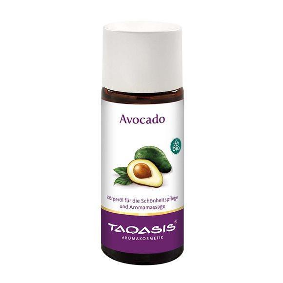 TAOASIS Avocado Öl BIO 50 ml