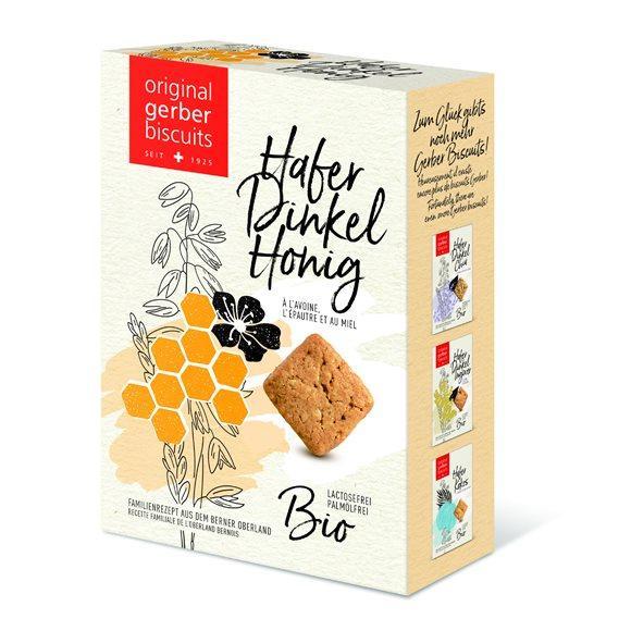 GERBER Hafer Dinkel Biscuits Honig Bio 160 g