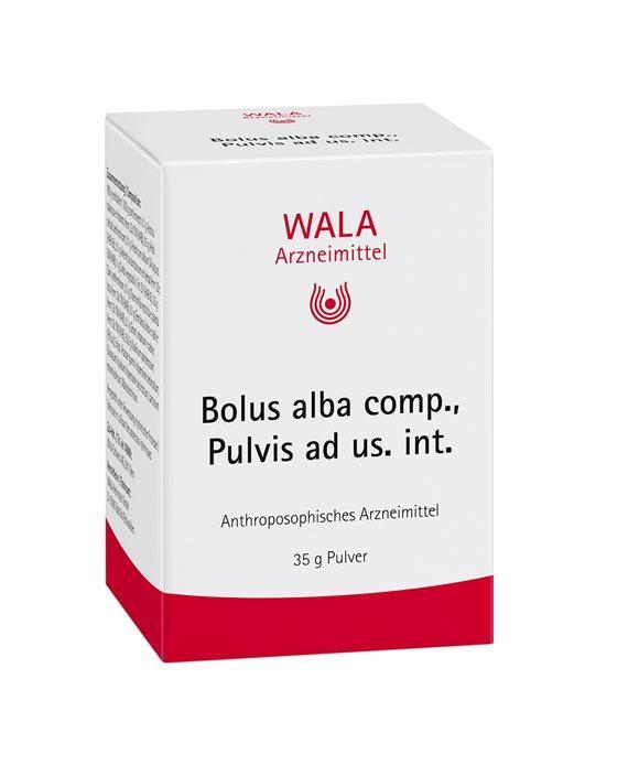 WALA Bolus alba comp Plv ad us int 35 g