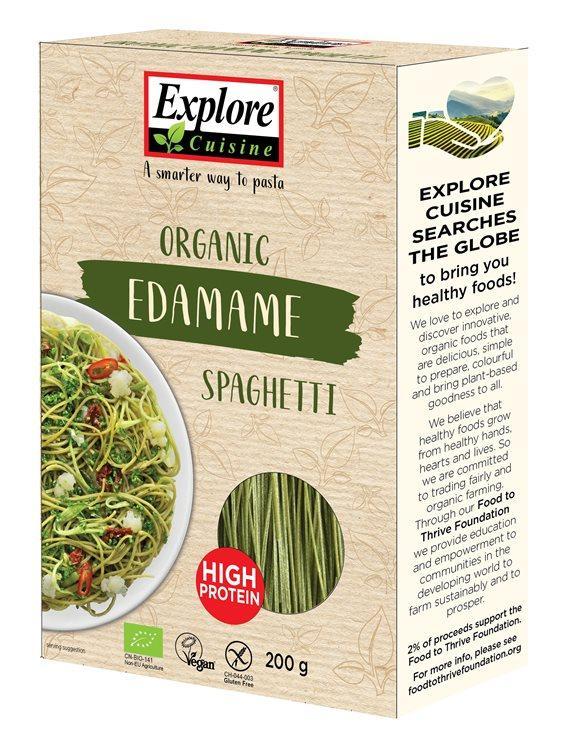 EXPLORE CUISINE Spaghetti Edamamebohnen Bio 200 g