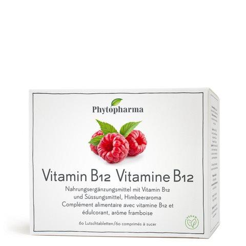 PHYTOPHARMA Vitamin B12 Lutschtabl Ds 60 Stk