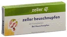 ZELLER Heuschnupfen Filmtabl 20 Stk