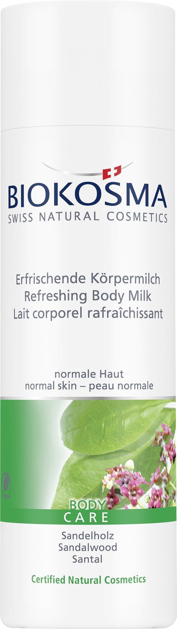 BIOKOSMA Körpermilch Sandelholz 200 ml