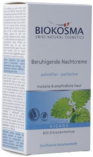 BIOKOSMA Sensitive Beruhig Nachtcreme 30 ml